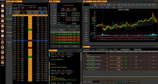 Tradehawk dashboard