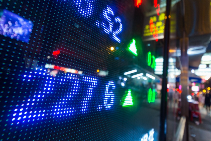 Stock-market-price-display-abstract-B4N7HDE